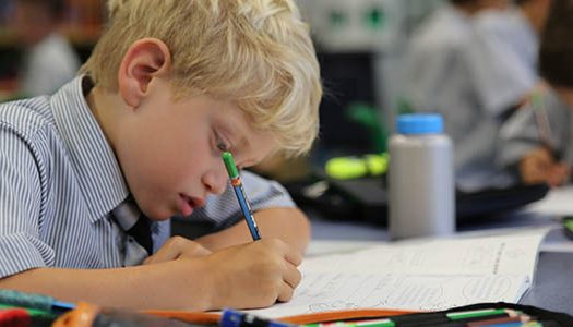 lindfield_boy_writing