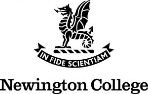 Logo_Newington_College_Stack_black