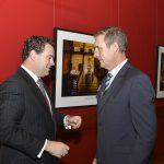 Mr Dom Garner and the Honorable Stuart Ayres, MP at the Duke of Edinburg Awards