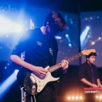 student performs at Rockfest