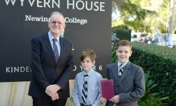Year 6 Wyvern student Jed Robertson uncovers Newington family history