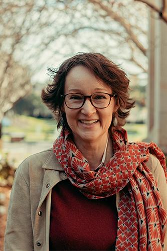 Dr Britta Jensen on the Stanmore campus